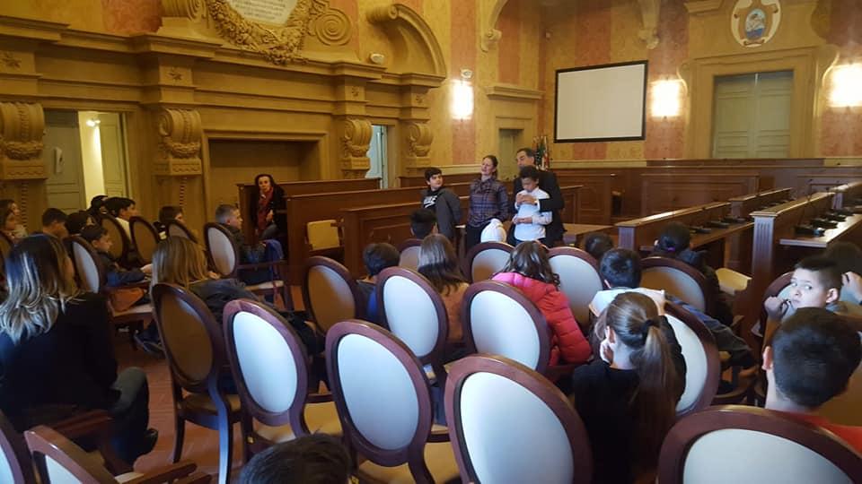 domande tra sindaco e alunni