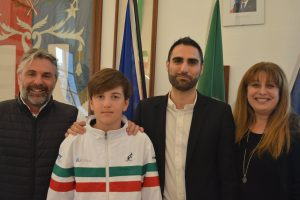 Pomezia abbraccia il baby campione di Tennis Andrea De Marchi