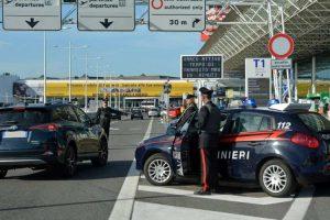 Controlli presso gli aeroporti di Fiumicino (RM) e di Ciampino (RM)