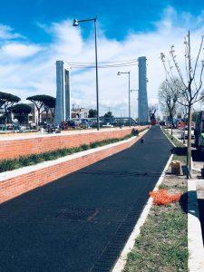 Fiumicino, Viale Traiano: al via i lavori
