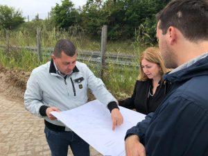 Fiumicino, Aranova: nuovo svincolo dell'Aurelia: iniziati gli scavi archeologici