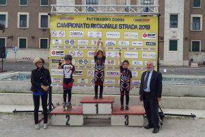 Fiumicino, Due giovani atlete astri nascenti del pattinaggio
