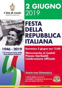 Anzio festeggia la Repubblica con la Banda Musicale e la Corale Polifonica