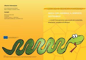 """Fiumicino, Arriva a scuola """"Annibale il serpente sostenibile"""""""