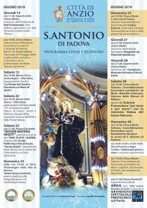 Anzio, S. Antonio di Padova: tutto pronto per i festeggiamenti in onore del Santo