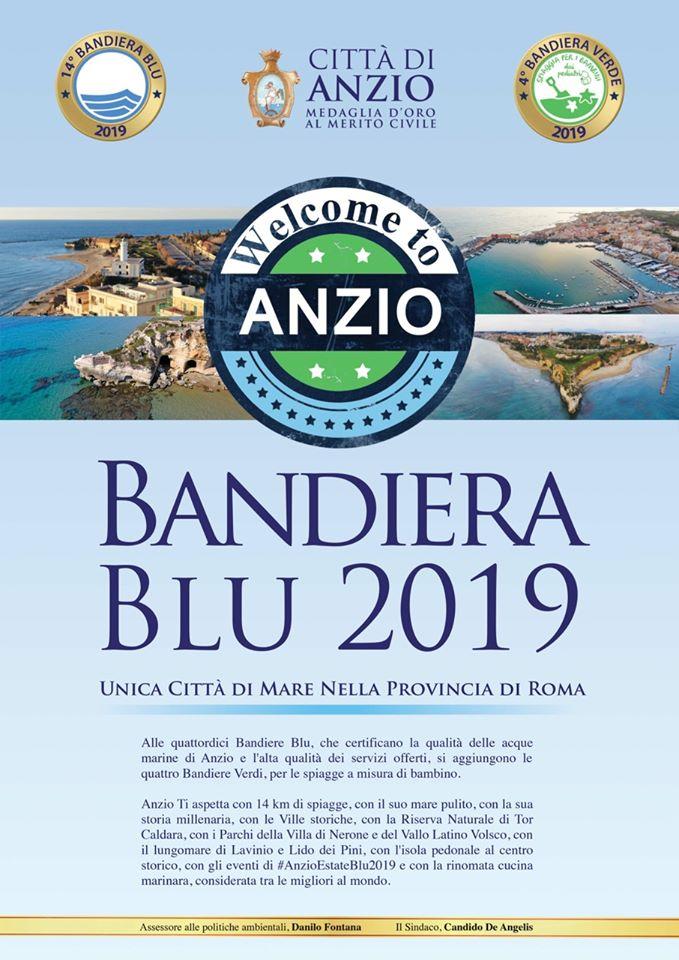 Anzio, Bandiera Blu 2019: il Meeting per la consegna agli Stabilimenti Balneari