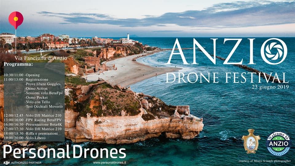 locandina Anzio Drone Festival