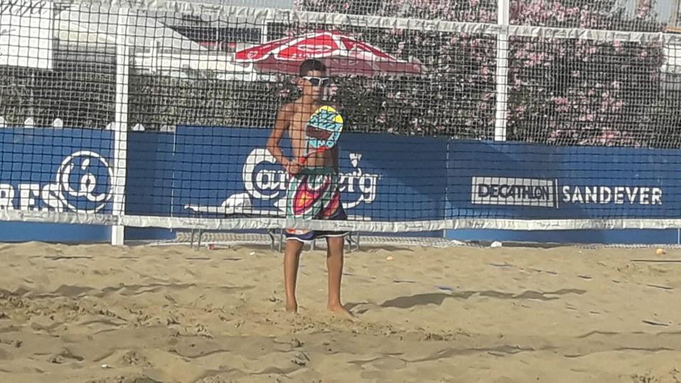 Tristano Frattolillo, neo campione mondiale under 14 di beach tennis