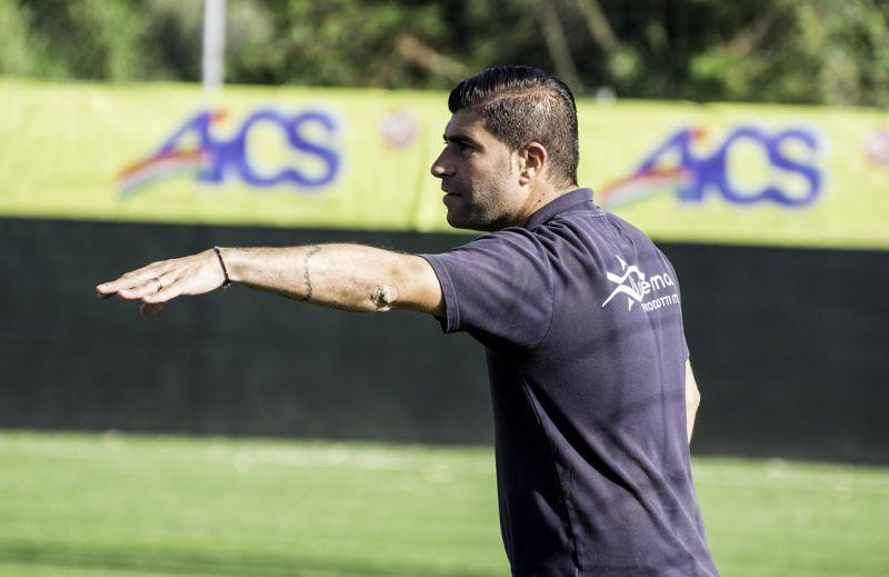 Mario Guida nuovo allenatore dell'Anzio (foto Ferri)