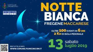 Fiumicino, Notte Bianca: disciplina di traffico provvisoria per tutti i veicoli a Maccarese e Fregene