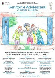 """Fiumicino, """"Genitori e adolescenti: un dialogo possibile?"""": l'ultimo appuntamento"""