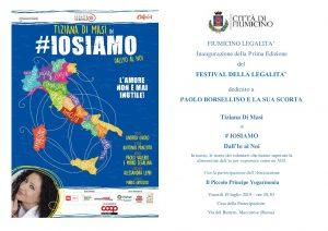 """Fiumicino, """"Festival della Legalità"""""""