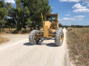 Fiumicino, Realizzato secondo intervento sulle strade bianche di Maccarese