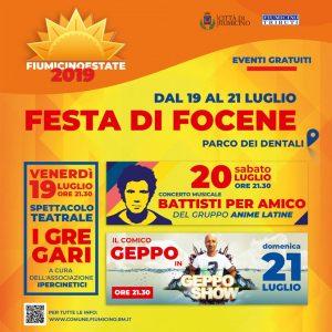 Fiumicino Estate arriva anche a Focene, con tre giorni di stand, musica e divertimento