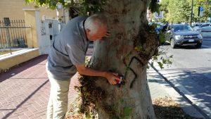 Fiumicino, Il sindaco scende in strada contro il degrado
