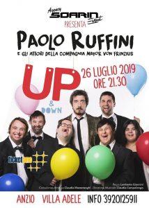 """il capolavoro teatrale di Paolo Ruffini """"Up & Down"""""""