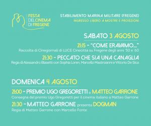 Fiumicino, Festa del Cinema di Fregene: le serate conclusive
