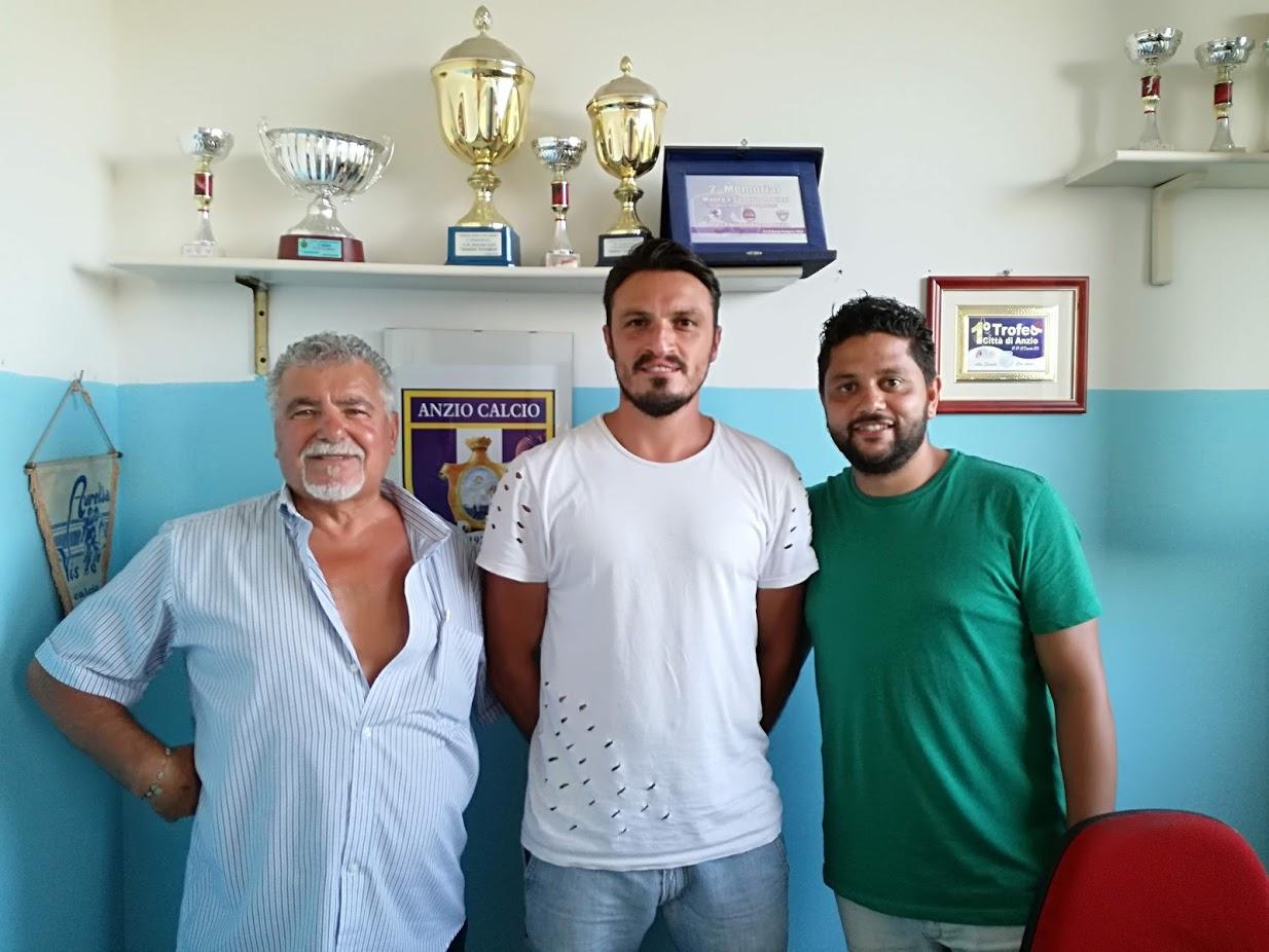Emanuele Martinelli con Franco Rizzaro e Guido Zenga (foto Ferri)
