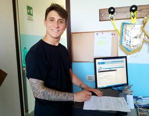 Francesco Prati nuovo centrocampista dell'Anzio Calcio