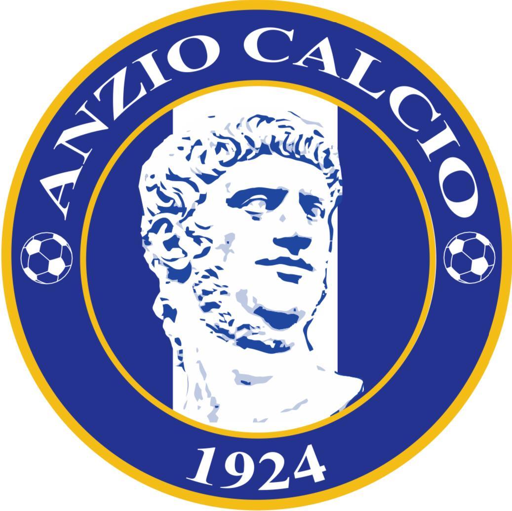 Il nuovo logo dell'Anzio Calcio 1924