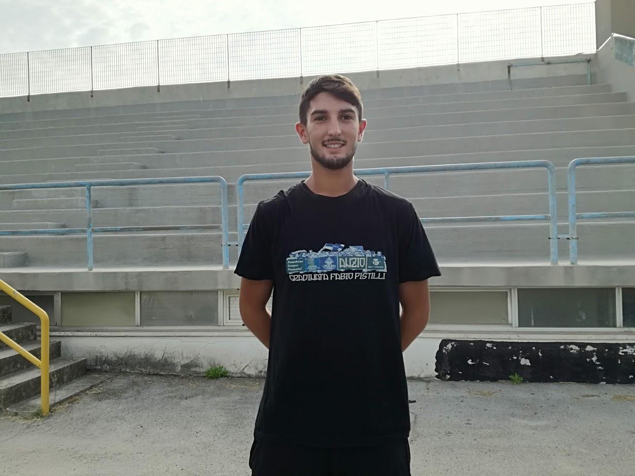 Marco Giordani nuovo giocatore dell'Anzio (foto Ferri)