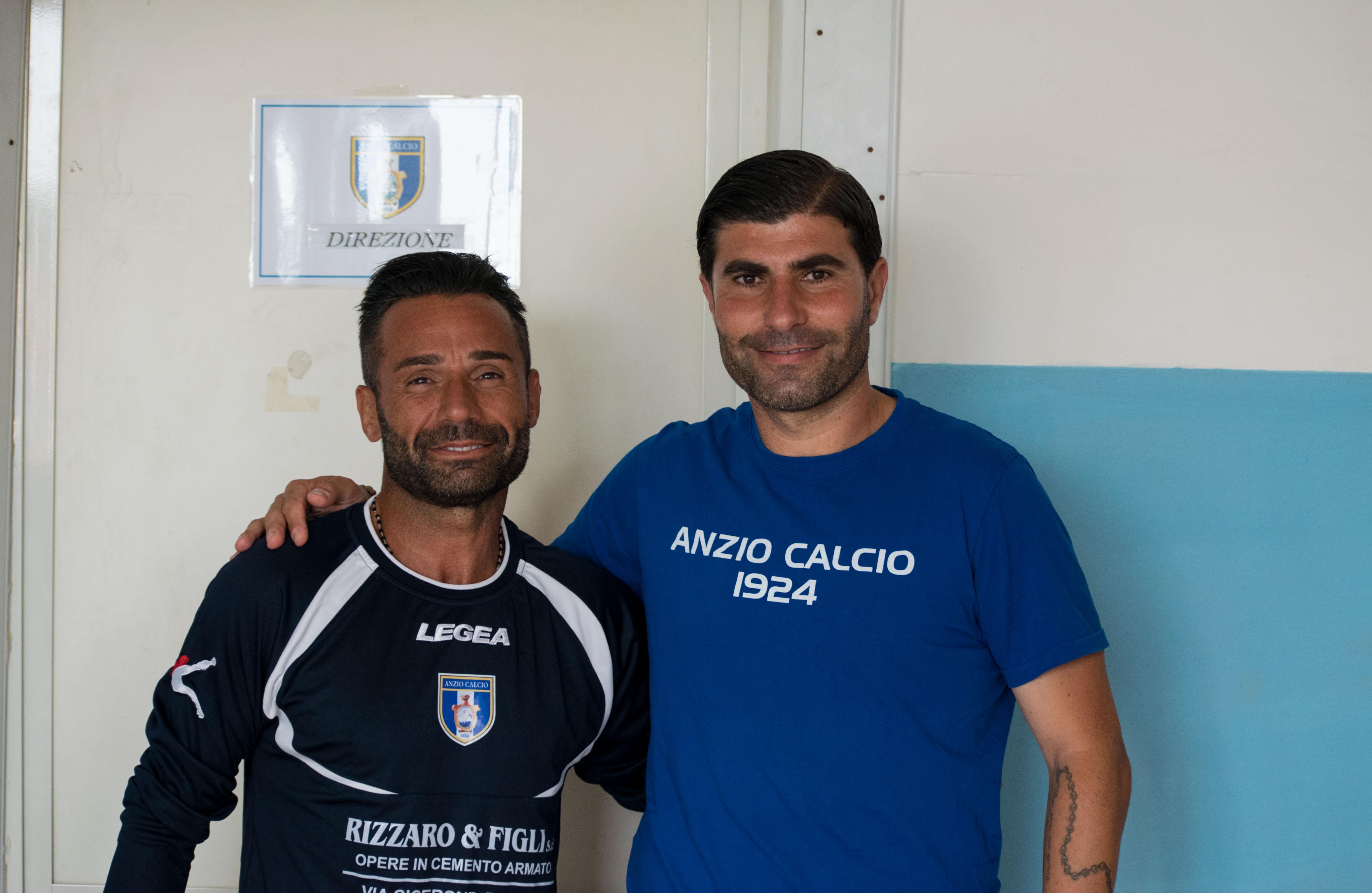 Paolo Riitano e Mario Guida (foto Ferri)