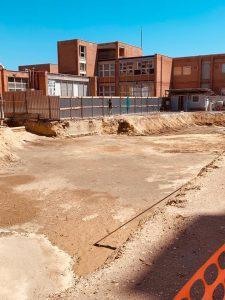 Fiumicino, Nuova palestra della scuola Segre: partiti i lavori