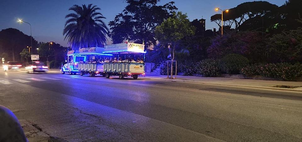 Anzio Estate Blu 2019, Il servizio trenino turistico attivo tutti i giorni