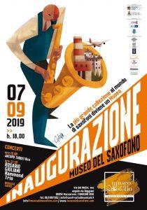 Fiumicino, Apre il primo Museo del Sax d'Italia
