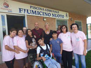 Fiumicino, Inaugurato il corso di piscina per disabili