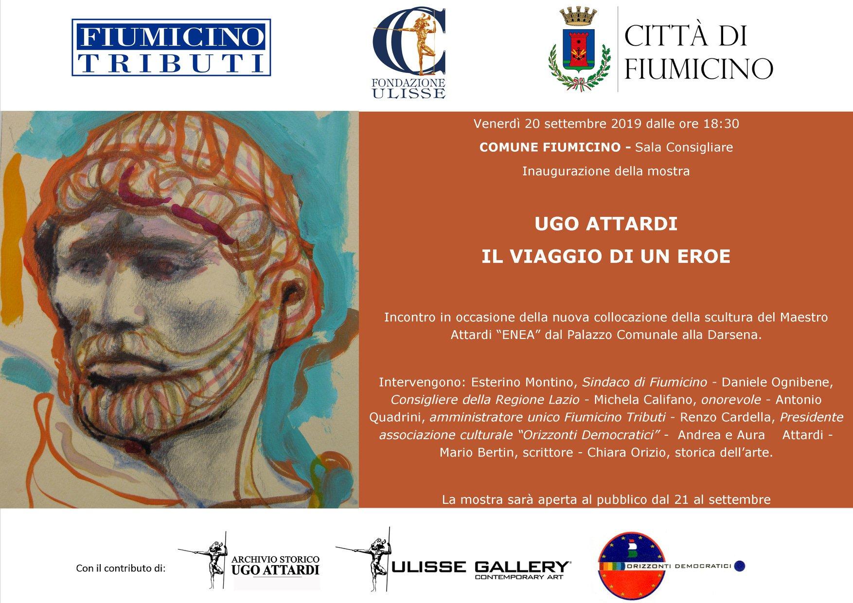 """Fiumicino, """"Ugo Attardi, Il viaggio dell'eroe"""": la mostra"""