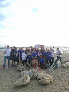 Fiumicino, Pulizia della spiaggia di Focene: i ringraziamenti dell'assessore Cini