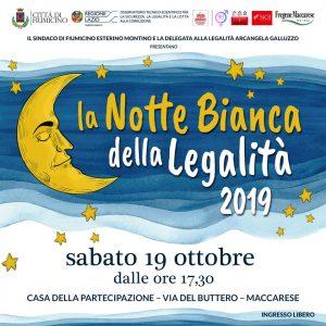 Fiumicino, Notte Bianca della legalità: la quarta edizione