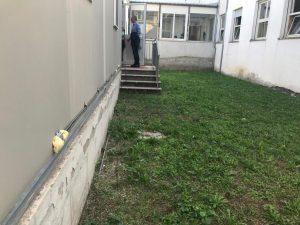 sopralluogo nella scuola di Madonnella a Isola sacra