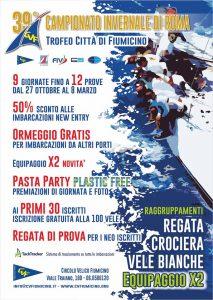 39esima edizione del Campionato Invernale di Vela di Roma – trofeo Città di Fiumicino
