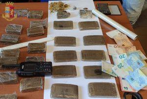 Scovato piccolo fortino di droga tra Acilia e Fiumicino