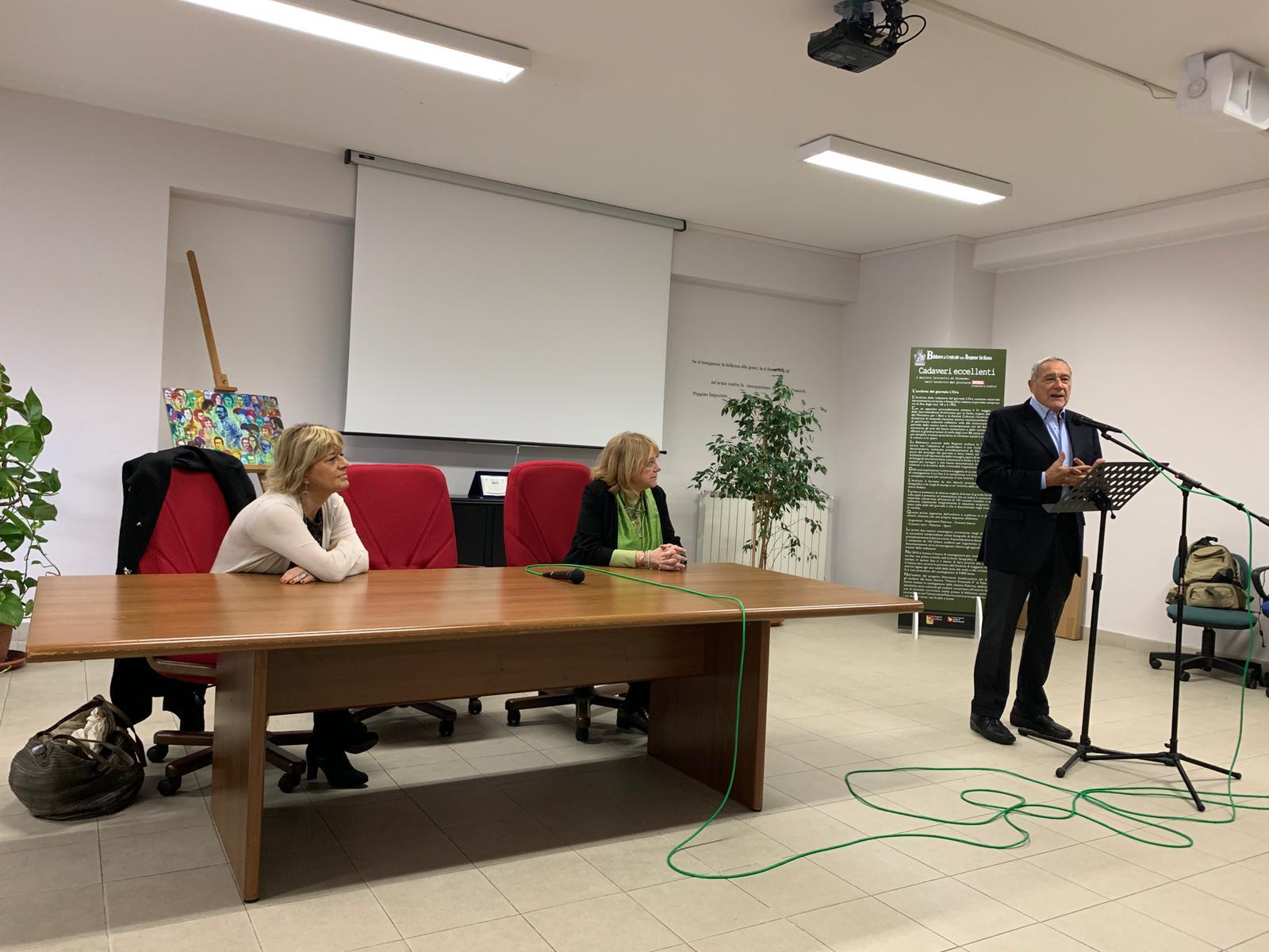 Fiumicino, Incontro tra l'ex Presidente del Senato Pietro Grasso e gli studenti