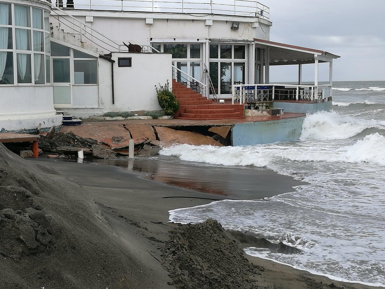 """Fiumicino, Maltempo, Il sindaco: """"La situazione delle coste di Focene nord e Fregene sud è drasticamente peggiorata"""""""