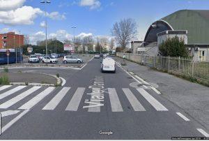 Fumicino, Vento forte: viale Danubio chiuso al traffico