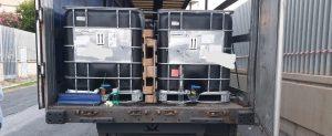 Fiumicino, Sequestrati 26 mila litri di cherosene di contrabbando: una denuncia