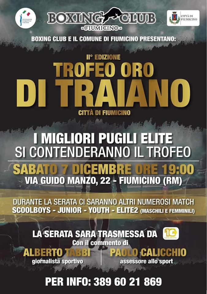 Fiumicino, Seconda edizione del Trofeo Oro di Traiano 2019
