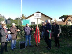 Fiumicino, Cerimonia di intitolazione a Lidia De Angelis
