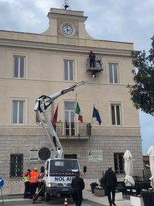 Fiumicino, Chiusura del Ponte Due Giugno per installazione luminarie
