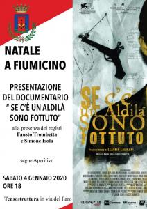 Natale a Fiumicino: Proiezione del documentario sul regista Claudio Caligari