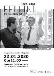 Fiumicino, Il sindaco Montino ricorda Fellini