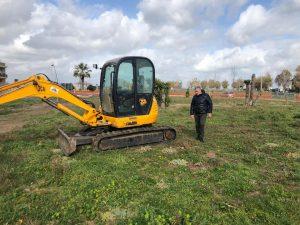 Fiumicino, Iniziati i lavori per la realizzazione del parcheggio in via San Carlo a Palidoro a Passoscuro
