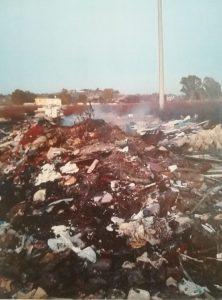 Fiumicino, Sequestrati due depositi illegali di rifiuti