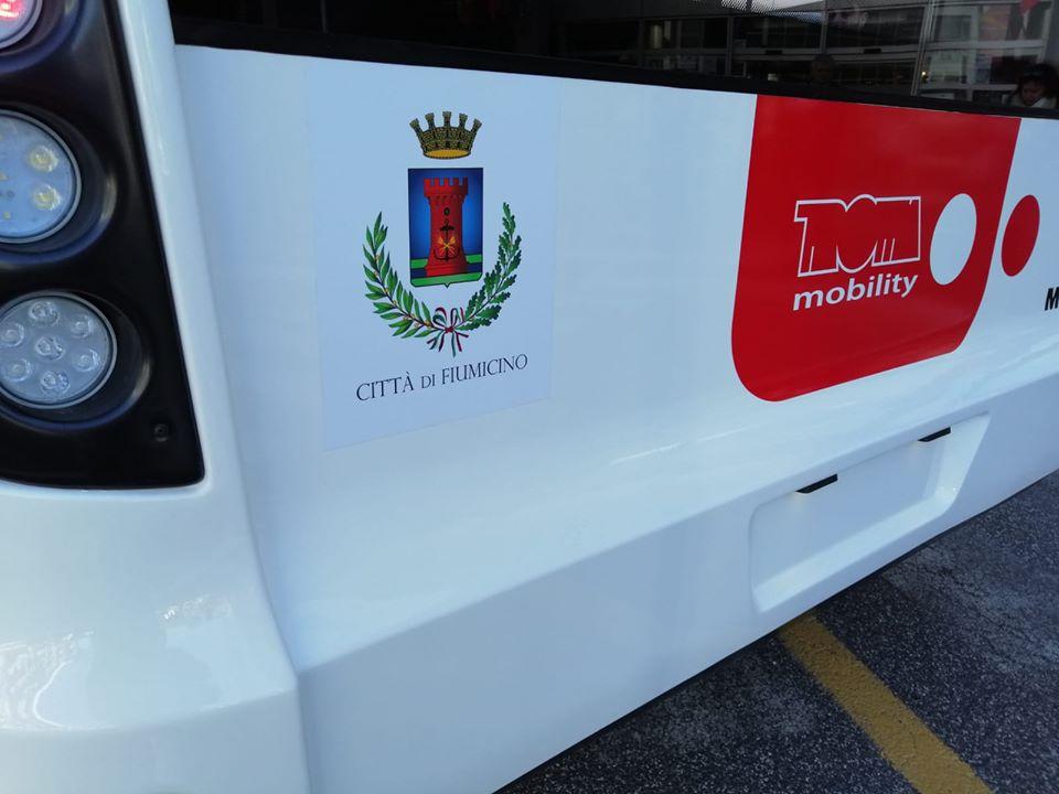 Fiumicino, Parte ilnuovo trasporto pubblico locale
