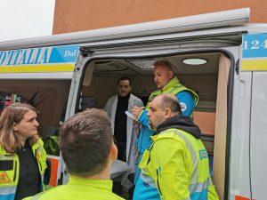 """Fiumicino, Sospeso il progetto """"Noi con voi"""" della Misericordia"""