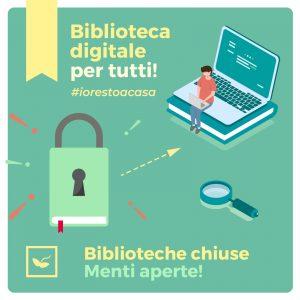 Pomezia, EmergenzaCoronavirus: disponibile il servizio dibiblioteca digitale
